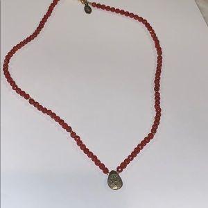 Sarta Red Carnelian Necklace